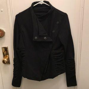 NWOT Lululemon ruche jacket with . Size 6.